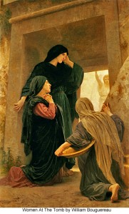 old painting of the women at the tomb