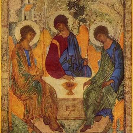 icon of trinity