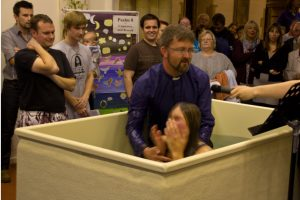 Adult Baptism @ Holy Rood Church