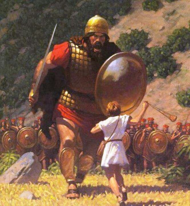 David and Goliath – ...