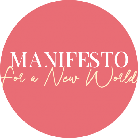 Manifesto for a New World logo